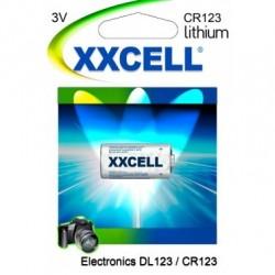 Batterie X 1 Pile Cr123 & Dl123