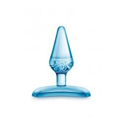 Mini Plug Jelly Bleu Transparent