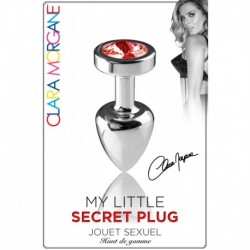 My Little Secret Plug Type Rosebud Medium Bijou Rouge