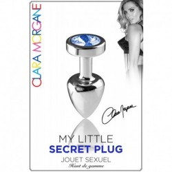 My Little Secret Plug Type Rosebud Small Bijou Bleu