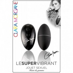 Le Super Vibrant - Oeuf Vibrant Ultra Silencieux Noir