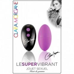 Le Super Vibrant - Oeuf Vibrant Ultra Silencieux Violet