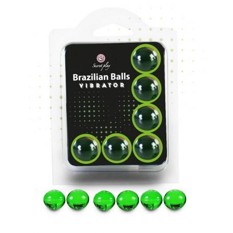 Boules Brésiliennes VIBRATOR X6