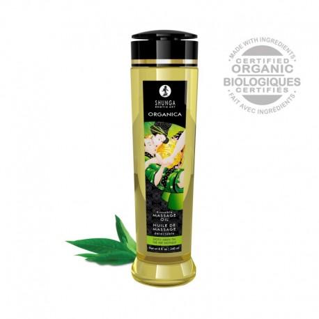 Huile de Massage Organica Thé Vert BIO Délectable