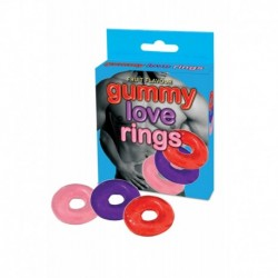 Bonbons Jelly Cockring Lot de 3