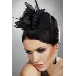 Chapeau Fleur Noire