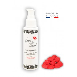Gel de Massage Lubrifiant Gourmand Fraise