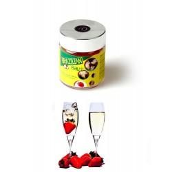 Boules Brésiliennes Aromatisées Fraise & Vin Pétillant