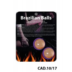 Boules Brésiliennes Effet Chauffant X2